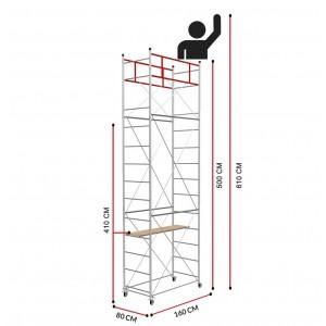 Andamio Fast (Altura de trabajo 6,10m)