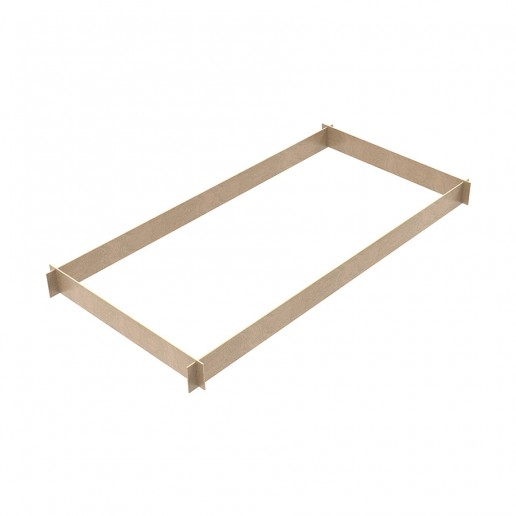 4-sided wooden footboard for M4 LUX Scaffoldings