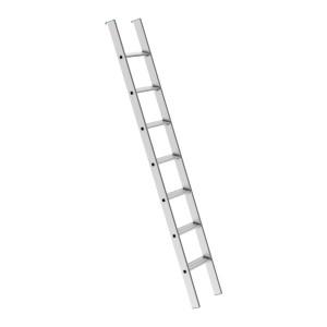 Escalera de andamio de aluminio