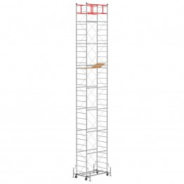 Scaffold Tower M4 LUX with extractable base (Working Height 10,85 m)
