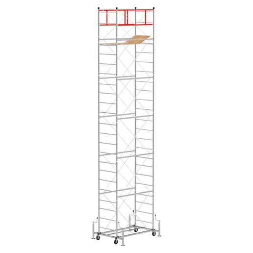 Scaffold Tower M4 LUX with extractable base (Working Height 8,50 m)