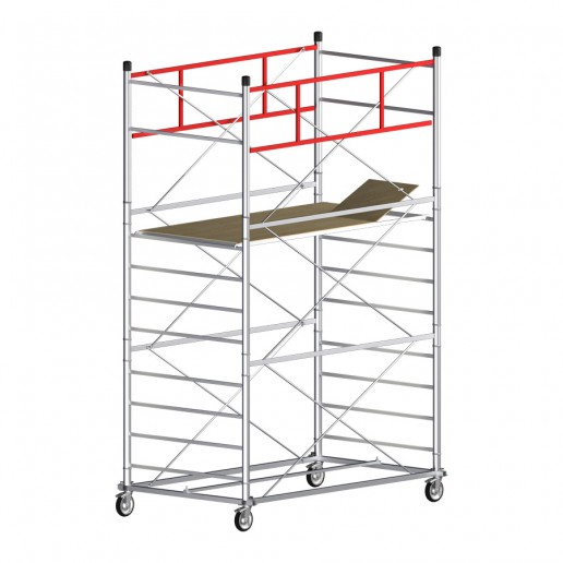 Scaffold Tower TITANIUM PRO (Working Height 5,10 m)