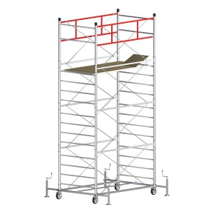 Scaffold Tower TITANIUM PRO (Working Height 6,20 m)