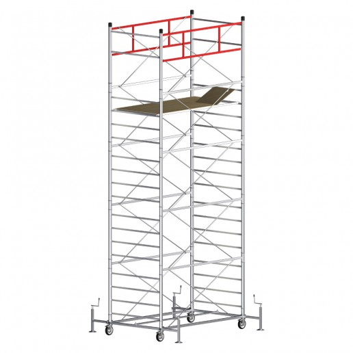 Rollgerüst TITANIUM PRO (Arbeitshöhe 7,40 m)