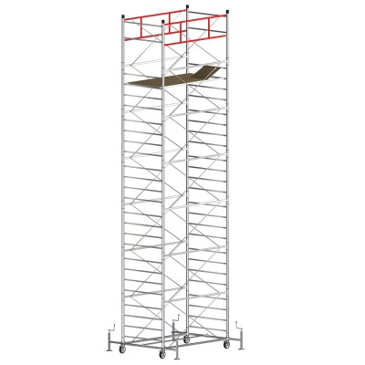Scaffold Tower TITANIUM PRO (Working Height 9,70 m)