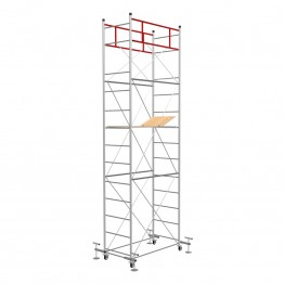 Scaffold Tower FAST with 4 Leveling Jack (Working Height 6,10 m)